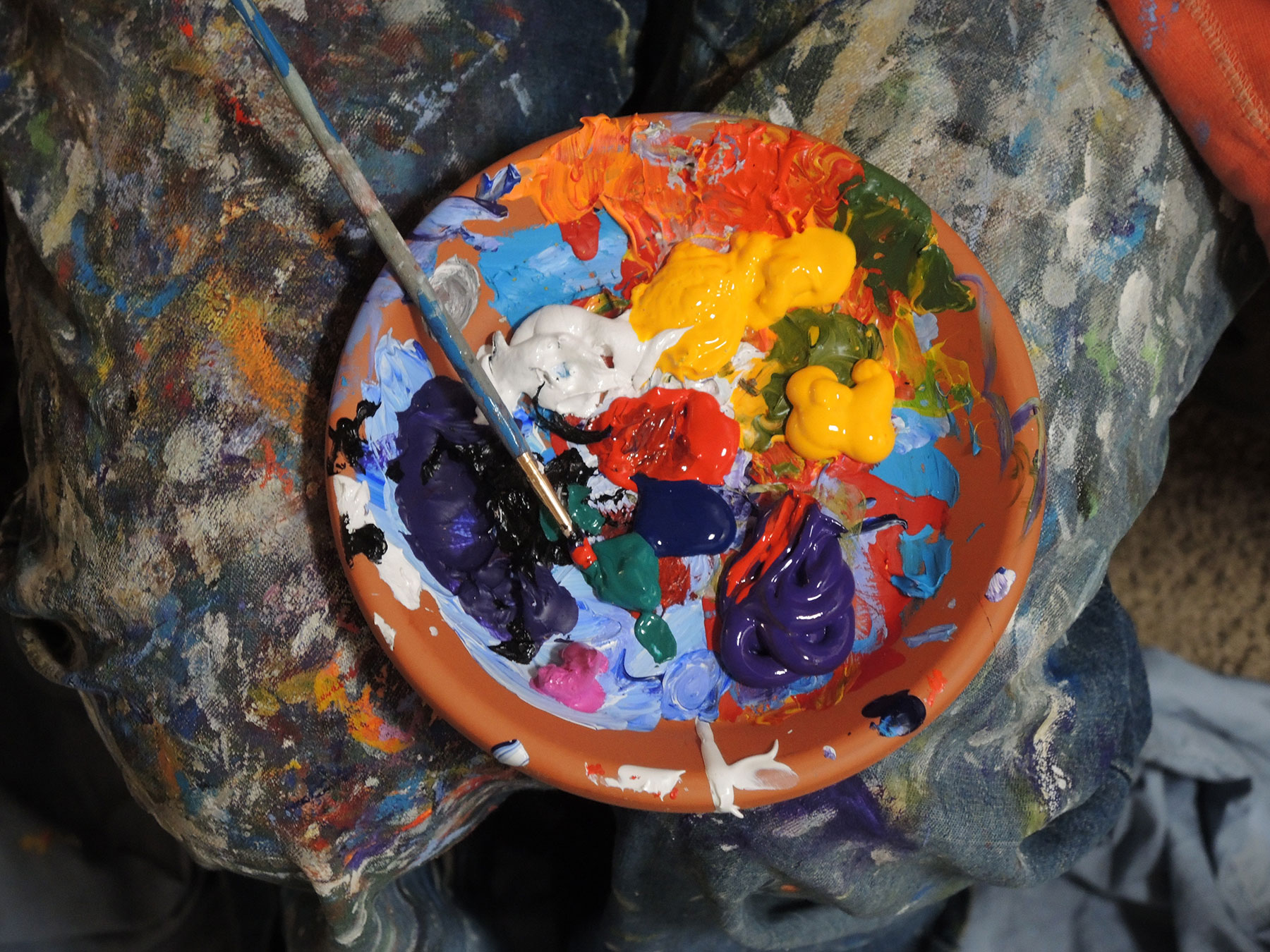 Using Opposite Colors In Your Paintings
