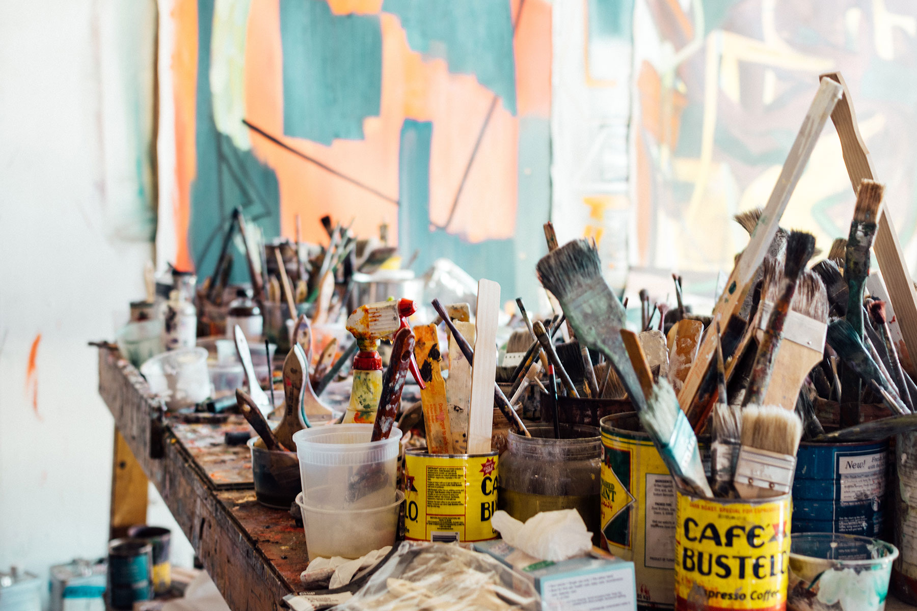 A Peek Into My Paint Studio