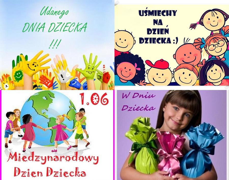 kartki na dzień dziecka