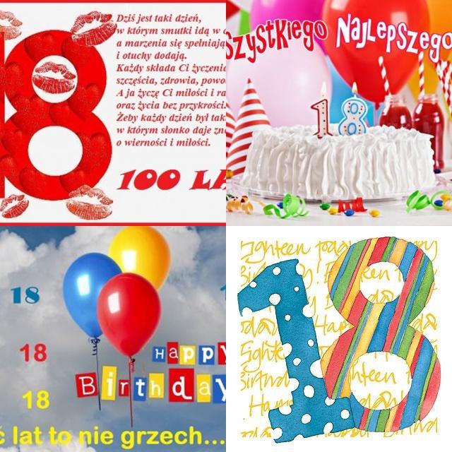 Kartki na osiemnastkę – 14 urodzinowych kartek